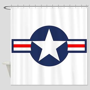 USAF Markings Shower Curtain