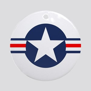 USAF Markings Round Ornament