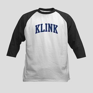 KLINK design (blue) Kids Baseball Jersey