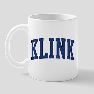 KLINK design (blue) Mug