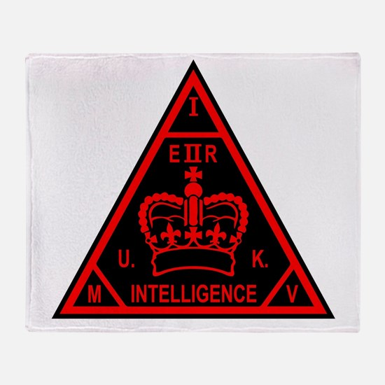 MI5 Throw Blanket