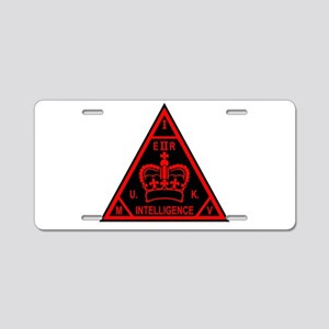 MI5 Aluminum License Plate