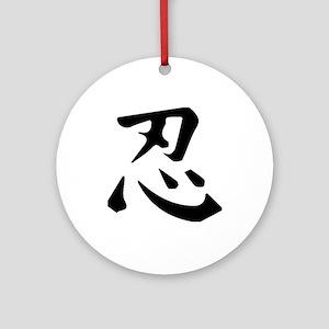 Ninja Round Ornament