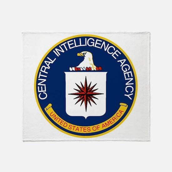 CIA Logo Throw Blanket