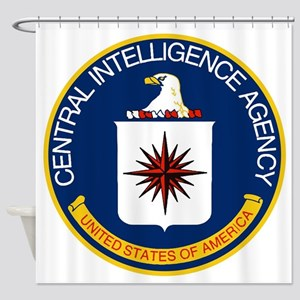 CIA Logo Shower Curtain