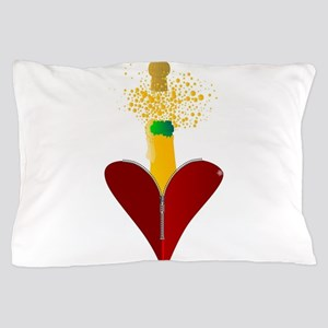 Love Champagne Pillow Case
