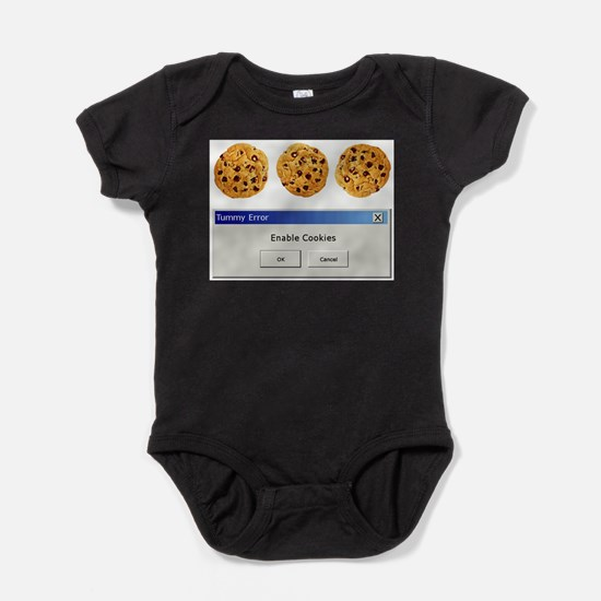 Cute Geek Baby Bodysuit