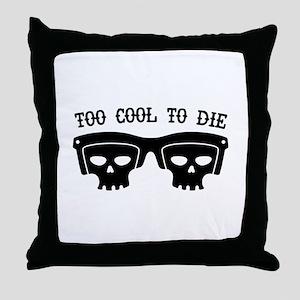 Too Cool Throw Pillow