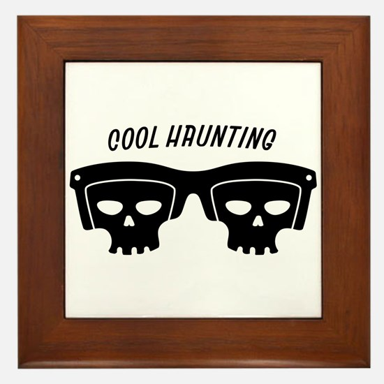 Cool Haunting Framed Tile