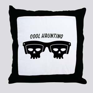 Cool Haunting Throw Pillow