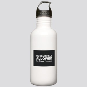 No Squirrels Allowed Stainless Water Bottle 1.0L