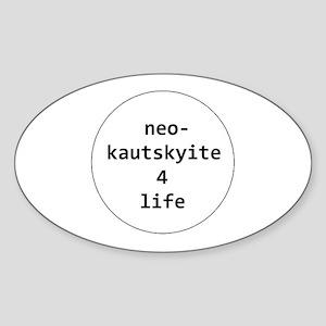 Neo-Kautskyite 4 Life Sticker