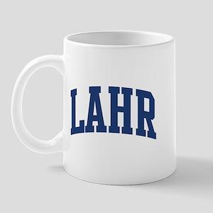 LAHR design (blue) Mug
