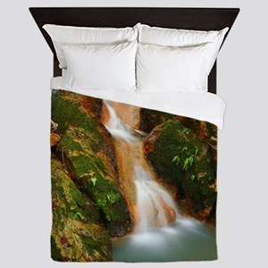 Water stream Queen Duvet