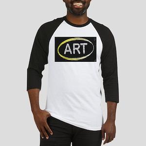 Art Blackboard Baseball Jersey