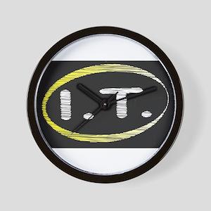 I.T. Blackboard Wall Clock