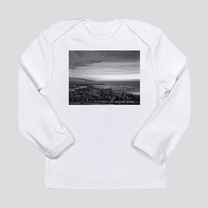 Black & White Sunset Long Sleeve T-Shirt