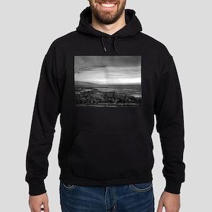 Black & White Sunset Hoodie (dark)