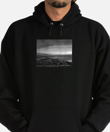 Black & White Sunset Hoodie (dark)