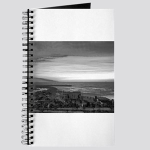 Black & White Sunset Journal