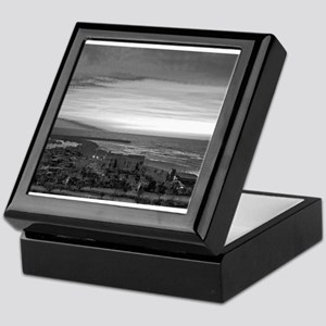 Black & White Sunset Keepsake Box