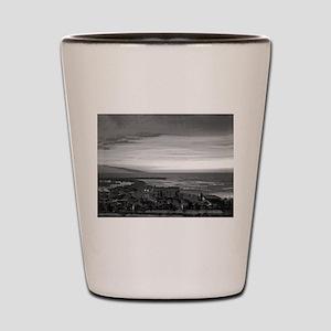 Black & White Sunset Shot Glass