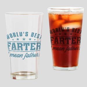 Worlds Best Farter Drinking Glass