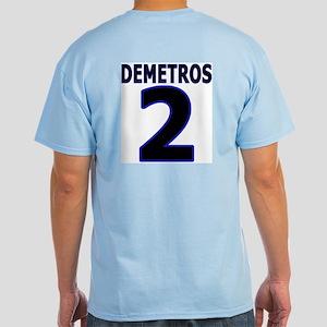 Demetros Personalized hole Light T-Shirt
