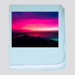 Beautiful Sunset baby blanket