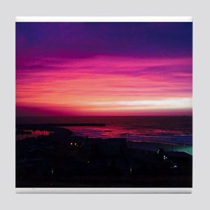 Beautiful Sunset Tile Coaster