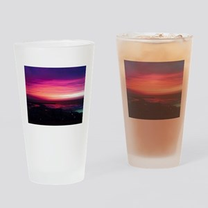 Beautiful Sunset Drinking Glass
