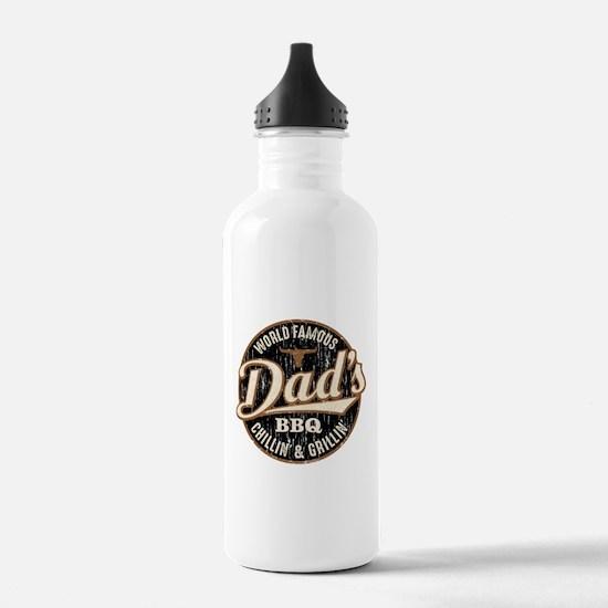 Dads BBQ Vintage Water Bottle