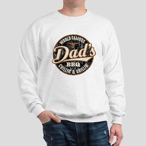 Dads BBQ Vintage Sweatshirt