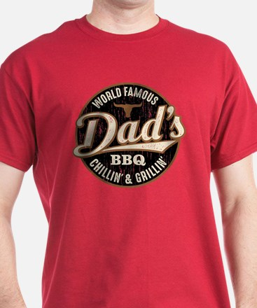 Dads BBQ Vintage T-Shirt