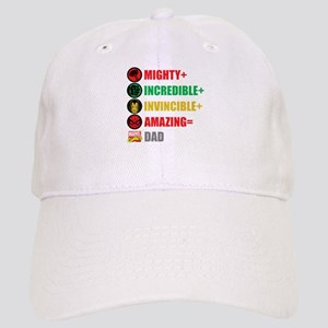 Marvel Dad Personalized Cap
