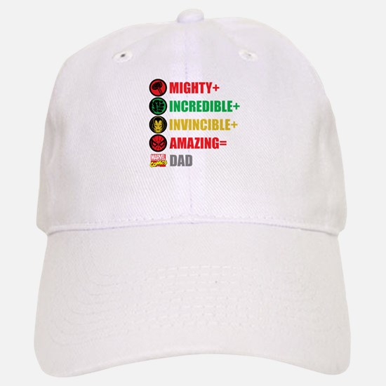 Marvel Dad Personalized Baseball Baseball Cap