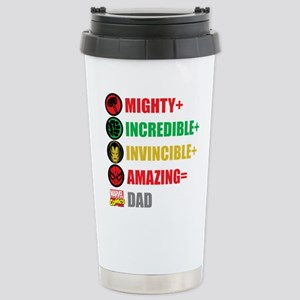 Marvel Dad Personalized Stainless Steel Travel Mug