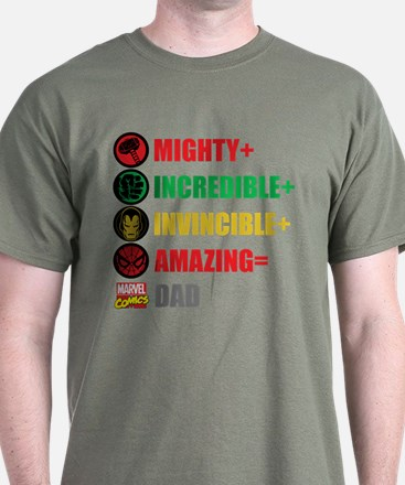 Marvel Dad Personalized T-Shirt