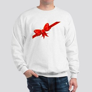 Silk Ribbon Bow Sweatshirt