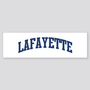 LAFAYETTE design (blue) Bumper Sticker