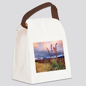 Sunset National Park NZ Canvas Lunch Bag