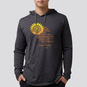Rise Up and Be Thankful Mens Hooded Shirt