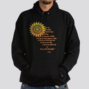 Rise Up and Be Thankful Hoodie (dark)