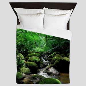 Manoa Stream Queen Duvet