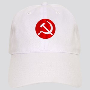 Russian Hammer and Sickle Cap