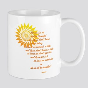 Rise Up and Be Thankful 11 oz Ceramic Mug