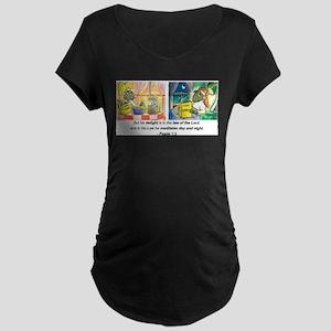 Psalm 1:2 Maternity T-Shirt