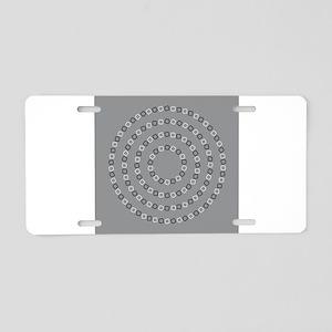 Illusion Aluminum License Plate