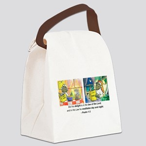 Ps 1 v2 DB Signature scan 2 16 08 Canvas Lunch Bag
