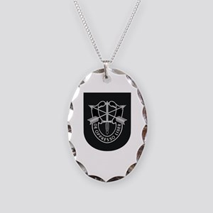Special Forces Liberator Necklace Oval Charm